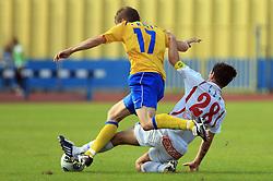 Bostjan Kreft and Ales Ceh at 33rd Round of PrvaLiga Telekom Slovenije 2008/2009 league match between NK Luka Koper and NK Labod Drava Ptuj, on May 9, 2009, in SRC Bonifika, Koper, Slovenia. Drava won 2:1. (Photo by Vid Ponikvar / Sportida)