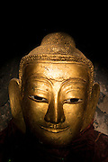 Myanmar. Budhist statue at Shwe Yaunghwe Kyaung Monastery near Inle Lake. It is located about one kilometer from the town of Nyaung shwe