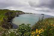 A view from the Carickarede Island in Ballintoy, County Antrim, Northern Ireland on Saturday, June 22nd 2013. (Photo by Brian Garfinkel)