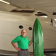 Harry Schoell, boat designer