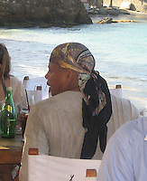 **EXCLUSIVE**.Terrence Howard at Nikki Beach.St. Barth, Caribbean.Friday, December 28, 2007 .Photo By Celebrityvibe.com.To license this image please call (212) 410 5354; or.Email: celebrityvibe@gmail.com ;.website: www.celebrityvibe.com