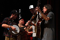 """The 59th Annual University of Chicago Folk Festival was held this weekend, Friday, February 15, 2019 and Saturday, February 16th, 2019 at the University of Chicago. The event was sponsored by The University of Chicago Folklore Society.<br /> <br /> 6779 – The group Steam Machine played a set of Old-Time folk music Friday evening, February 15th, 2019 at Mandel Hall located at 1131 E. 57th Street.<br /> <br /> Please 'Like' """"Spencer Bibbs Photography"""" on Facebook.<br /> <br /> Please leave a review for Spencer Bibbs Photography on Yelp.<br /> <br /> Please check me out on Twitter under Spencer Bibbs Photography.<br /> <br /> All rights to this photo are owned by Spencer Bibbs of Spencer Bibbs Photography and may only be used in any way shape or form, whole or in part with written permission by the owner of the photo, Spencer Bibbs.<br /> <br /> For all of your photography needs, please contact Spencer Bibbs at 773-895-4744. I can also be reached in the following ways:<br /> <br /> Website – www.spbdigitalconcepts.photoshelter.com<br /> <br /> Text - Text """"Spencer Bibbs"""" to 72727<br /> <br /> Email – spencerbibbsphotography@yahoo.com<br /> <br /> #SpencerBibbsPhotography <br /> #HydePark <br /> #Community <br /> #Neighborhood<br /> #CanonUSA"""