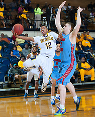 2014-15 A&T Men's Basketball vs Delaware State University