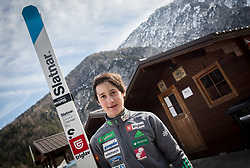 Cene Prevc after practice session one week before FIS Ski Flying World Cup, on March 14, 2017 in Planica, Slovenia. Photo by Vid Ponikvar / Sportida