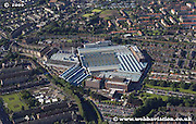 aerial photograph of the clyde union pumps factory Glasgow Scotland