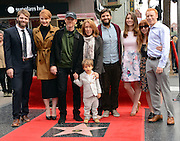 RON HOWARD + wife CHERYL + daughter BRYCE DALLAS + family  at his second Walk of Fame ceremony held @ 6931 Hollywood blvd. December 10, 2015<br /> ©Exclusivepix Media