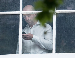 © Licensed to London News Pictures. 09/07/2018. London, UK. Lee Cain, special advisor to Foreign Secretary Boris Johnson, is seen inside the official residence before resignation. Brexit Secretary David Davis has resigned over Prime Minister Theresa May's Brexit Plan. Mr Davis was appointed to the post in 2016 and was responsible for negotiating the UK's EU withdrawal. Photo credit: Peter Macdiarmid/LNP