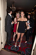 ALICE DELLAL, Dinner hosted by Elizabeth Saltzman for Mario Testino and Kate Moss. Mark's Club. London. 5 June 2010. -DO NOT ARCHIVE-© Copyright Photograph by Dafydd Jones. 248 Clapham Rd. London SW9 0PZ. Tel 0207 820 0771. www.dafjones.com.