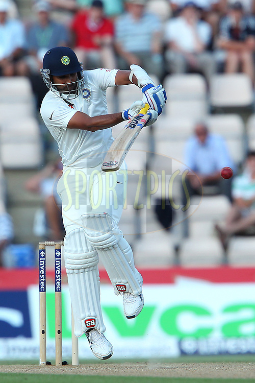 Mohammed Shami of India during day three of the third Investec Test Match between England and India held at The Ageas Bowl cricket ground in Southampton, England on the 29th July 2014<br /> <br /> Photo by Ron Gaunt / SPORTZPICS/ BCCI