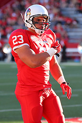 06 Sep 2014: Collin Keoshian during a non-conference NCAA football game between the Delta Devils of Mississippi Valley State and the Redbirds of Illinois State at Hancock Stadium in Normal Il