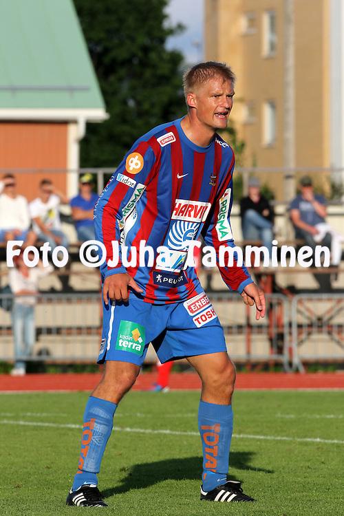 5.8.2012, Keskuskentt?, Pietarsaari..Veikkausliiga 2012..FF Jaro - JJK Jyv?skyl?..Juha Pasoja - JJK