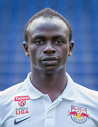 27.06.2014, Red Bull Arean, Salzburg, AUT, 1. FBL, Fototermin FC Red Bull Salzburg, im Bild Sadio Mane // Sadio Mane during the official Team and Portrait Photoshoot of Austrian Football Team FC Red Bull Salzburg at the Red Bull Arena, Salzburg, Austria on 2014/06/27. EXPA Pictures © 2014, PhotoCredit: EXPA/ JFK