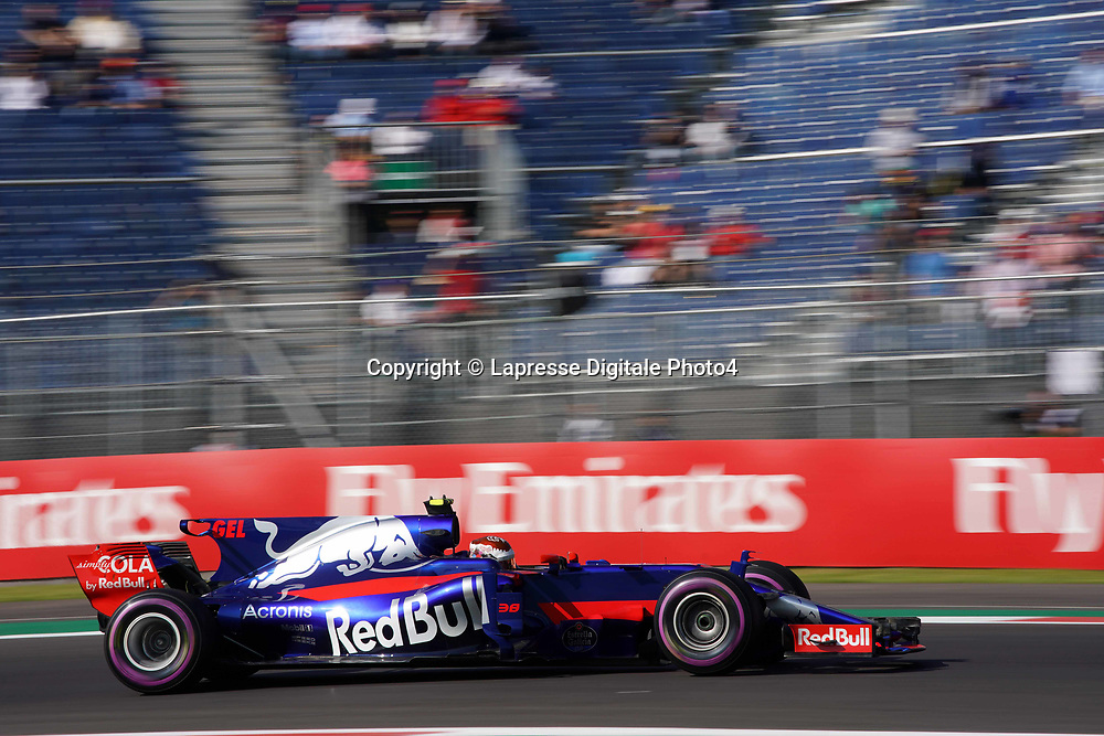 &copy; Photo4 / LaPresse<br /> 27/10/2017 Mexico City, Mexico<br /> Sport <br /> Grand Prix Formula One Mexico 2017<br /> In the pic: Sean Gelael (INA)  test driver Scuderia Toro Rosso STR12