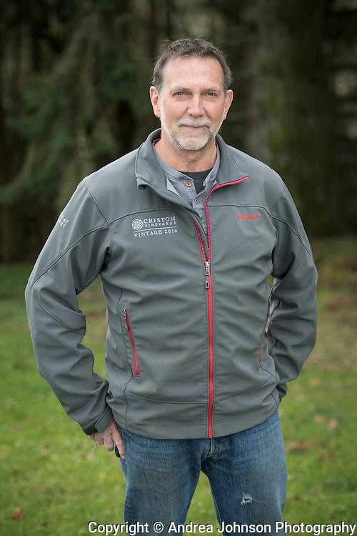 Steve Doerner, Cristom Vineyards, Eola-Amity Hills AVA, Willlamette Valley, Oregon