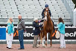 Lee Frawley, (ISV), Rhapsody - Individual Test Grade IV Para Dressage - Alltech FEI World Equestrian Games™ 2014 - Normandy, France.<br /> © Hippo Foto Team - Jon Stroud <br /> 25/06/14