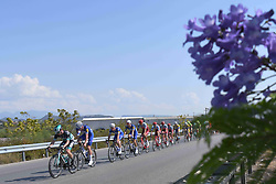 October 10, 2018 - Antalya, Turkey - Peloton during the second stage - the Sportoto 154.1km Alanya - Antalya, of the 54th Presidential Cycling Tour of Turkey 2018. .On Wednesday, October 10, 2018, in Antalya, Turkey. (Credit Image: © Artur Widak/NurPhoto via ZUMA Press)