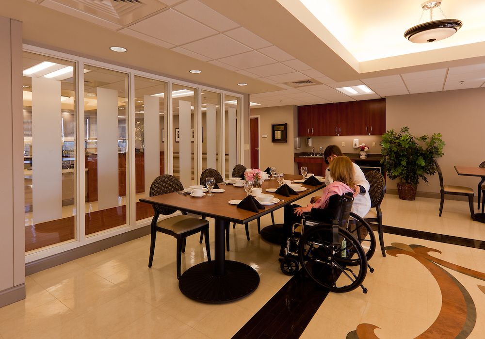 Dining Room for Inpatients at St. David's