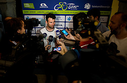 Mark Cavendish (RSA, Team Dimension Data) during press conference of 24th Tour of Slovenia 2017 / Tour de Slovenie cycling race on June 14, 2017 in City museum, Ljubljana, Slovenia. Photo by Vid Ponikvar / Sportida