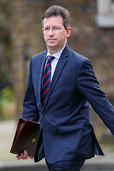 © Licensed to London News Pictures. 19/04/2016. London, UK. Attorney General JEREMY WRIGHT attending a cabinet meeting in Downing Street on Tuesday, 19 April 2016. Photo credit: Tolga Akmen/LNP