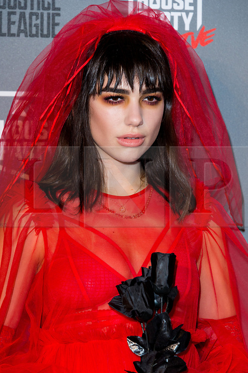 © Licensed to London News Pictures. 26/10/2017. London, UK. Dua Lipa attends the Kiss House Party Live event at the SSE Wembley Arena. Photo credit: Ray Tang/LNP