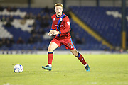 Goalscorer Callum Camps during the EFL Sky Bet League 1 match between Bury and Rochdale at the JD Stadium, Bury, England on 13 April 2017. Photo by Daniel Youngs.