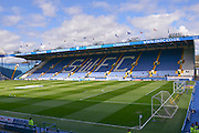 Hillsborough Stadium before the Sky Bet Championship match between Sheffield Wednesday and Ipswich Town at Hillsborough, Sheffield, England on 16 April 2016. Photo by John Marfleet.