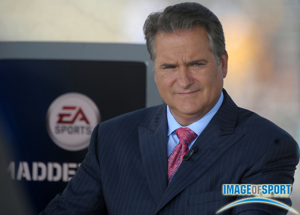 Aug 7, 2010; Canton, OH, USA; Steve Mariucci at the 2010 Pro Football Hall of Fame enshrinement ceremony. Photo by Image of Sport
