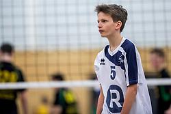 31-03-2018 NED: Finale C Volleybaldirect Open, Wognum<br /> 16 teams van meisjes en jongens C streden om het Nederlands Kampioenschap / Sliedrecht Sport