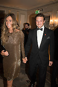 MR. AND MRS. CHARLES LANGTON, Cartier 25th Racing Awards, the Dorchester. Park Lane, London. 10 November 2015