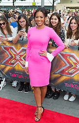 Image ©Licensed to i-Images Picture Agency. 01/08/2014. London, . RED CARPET ARRIVALS AT THE X FACTOR 2014. Mel B arrives at the X-Factor auditions at Wembley Arena. Picture by Daniel Leal-Olivas / i-Images