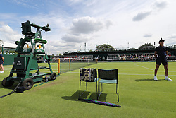 WIMBLEDON - UK - 28th June 2016: The Wimbledon Tennis Championships Day-2  at the All England Lawn Tennis Club, Wimbledon. S.E. London.<br /> <br /> Pic shows.<br /> Photo by Ian Jones