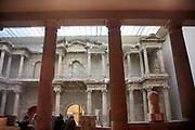 Interior of the Pergamon Museum, Berlin, Germany