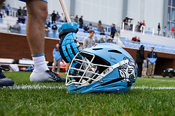 CHAPEL HILL, NC - MARCH 02: the North Carolina Tar Heels during a game against the Denver Pioneers on March 02, 2019 at the UNC Lacrosse and Soccer Stadium in Chapel Hill, North Carolina. Denver won 12-10. (Photo by Peyton Williams/US Lacrosse)