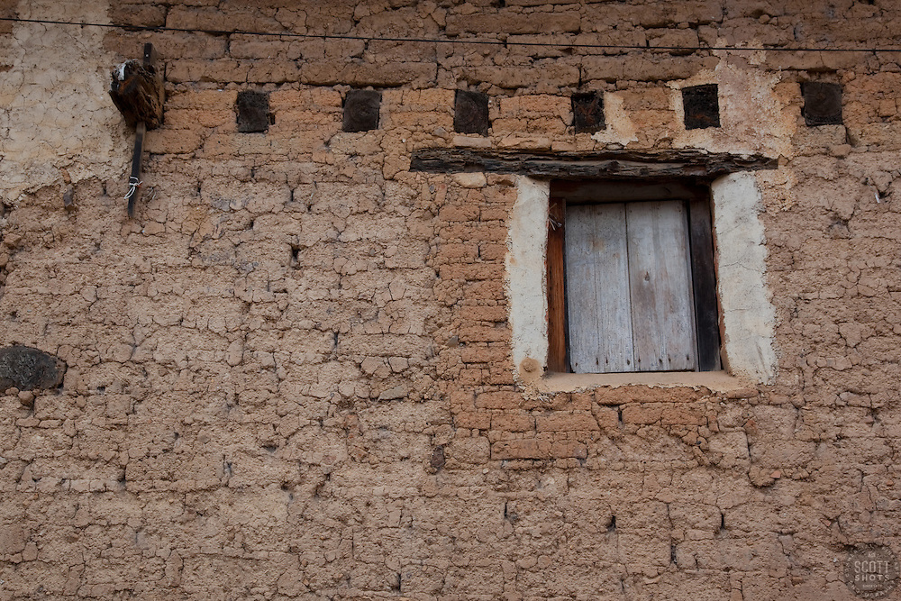 """Window 1"" - This shut window was photographed in San Sebastian, Mexico."