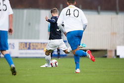 Falkirk's Rory Loy misses the penalty.<br /> Falkirk 1 v 1 Morton, Scottish Championship game today at The Falkirk Stadium.<br /> &copy; Michael Schofield.