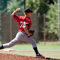 Baseball - MLB European Academy - Tirrenia (Italy) - 21/08/2009 - Scott Ronnenbergh (Netherlands)