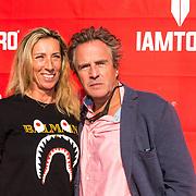 NLD/Amsterdaml/20180902 - Everon Jackson Hooi Lanceert boxerliijn  IAMTORO, Joep Sertons en partner Babette Lips