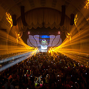 September 26, 2012 - New York, NY : Swedish dance music DJ, remixer, and record producer, Avicii, performs at Radio City Music Hall in Manhattan on Wednesday evening. CREDIT: Karsten Moran for The New York Times