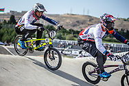 Men Elite #87 (WHYTE Kye) GBR the 2018 UCI BMX World Championships in Baku, Azerbaijan.