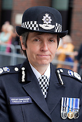 © Licensed to London News Pictures. FILE PICTURE:11/09/2011. London, UK. Assistant Commissioner Cressida Dick attended the ceremony. The London Fire Brigade and the Firefighters' Memorial Trust marked the tenth anniversary of the September 11th terror attacks. The Met Police has appointed it's first female chief Cressida Dick. Photo credit: Bettina Strenske/LNP