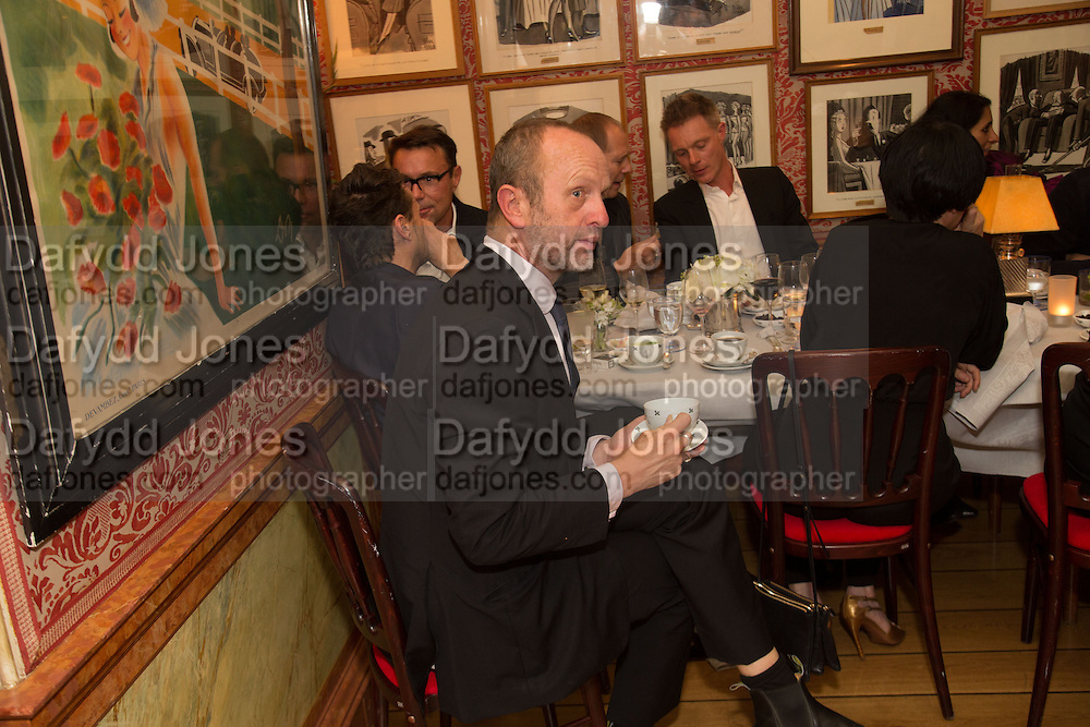 JOHNNIE SHAND KYDD, Charles Finch and  Jay Jopling host dinner in celebration of Frieze Art Fair at the Birley Group's Harry's Bar. London. 10 October 2012.