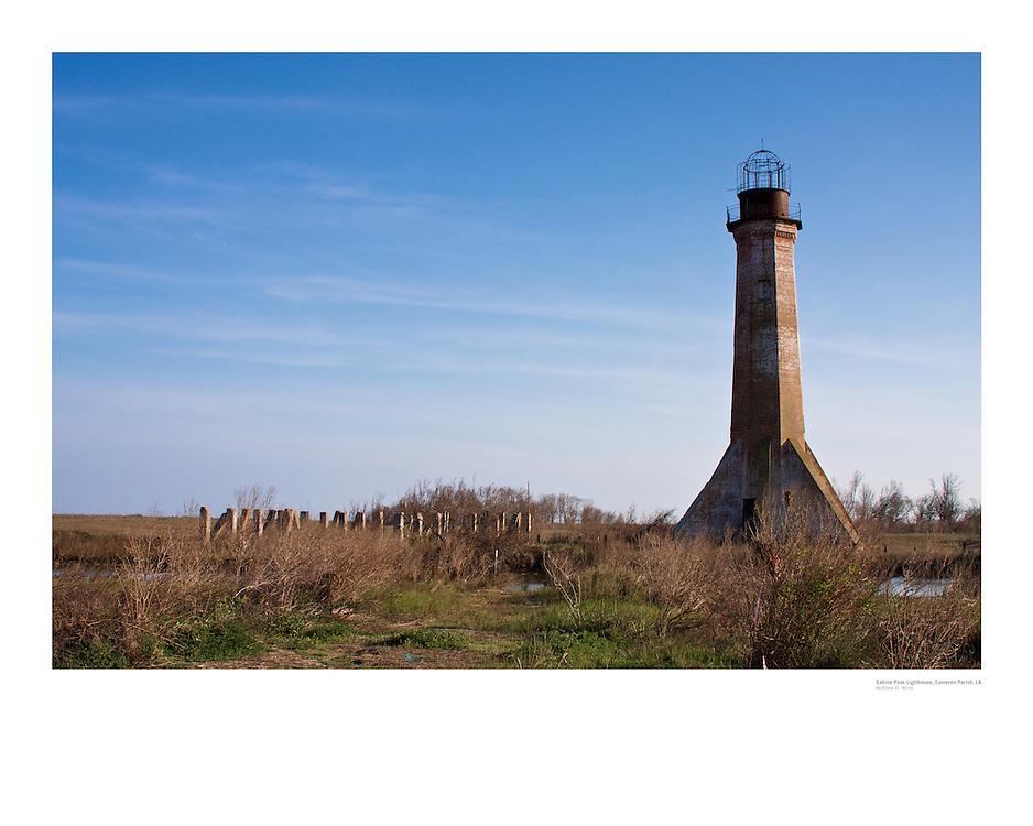 Sabine Pass Lighthouse Poster