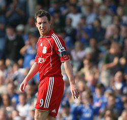 Portsmouth, England: Saturday, April 28, 2007: Liverpool's Robbie Fowler in action against Portsmouth during the Premiership match at Fratton Park (Pic by Chris Ratcliffe/Propaganda)