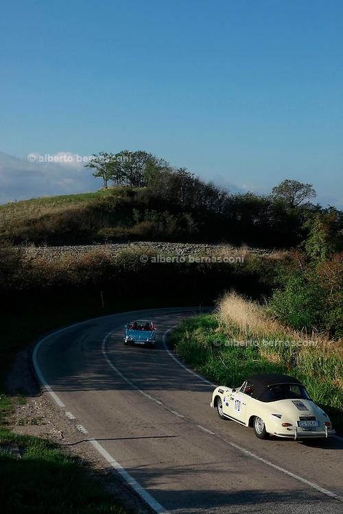 GP TAZIO NUVOLARI 2012.  PORSCHE  356 A CABRIO 1958
