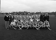 """Ireland Hockey Team.    (N65)..1981..15.03.1981..03.15.1981..15th March 1981..Prior to their forthcoming International against Poland, The Ireland team were kitted out in a full set of Addidas Gear by the """"Great Outdoors""""camping shops.""""Great Outdoors"""" have outlets in Dublin, Cork and Galway."""
