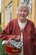 Sofie Marstad (88), veteran i selbustrikk.