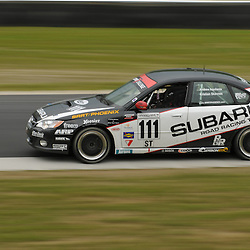 May 23, 2009; Lakeville, CT, USA; The Subaru Road Racing Team Legacy of Andrew Aquilante and Kristian Skavnes races in Grand-Am Koni Sports Car Challenge series competition during the Memorial Day Road Racing Classic weekend at Lime Rock Park.