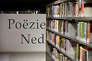 Nederland, Nijmegen, 12-12-2014 Openbare Bibliotheek. Deze voorziening staat landelijk onder druk vanwege de bezuinigingen die via de regering bij de gemeenten gelegd worden. Kleine vestigingen of filialen in de wijk moeten sluiten. In de gemeente nijmegen heeft een grote reorganisatie plaatsgevonden.Foto: Flip Franssen/Hollandse Hoogte