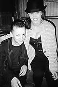 Boy George and Belinda Carlisle, UK, 1980s