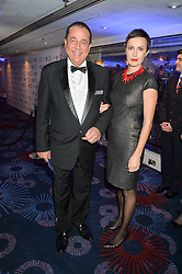 DR HASNAT KHAN and SASKA JEKLER at the Chain of Hope Ball held in aid of the charity Chain of Hope, founded by Professor Sir Magdi Yacoub which organises volunteer teams worldwide to operate on children suffering from life-threatening heart diseases, held at the Grosvenor House Hotel, Park Lane, London on 20th November 2015.